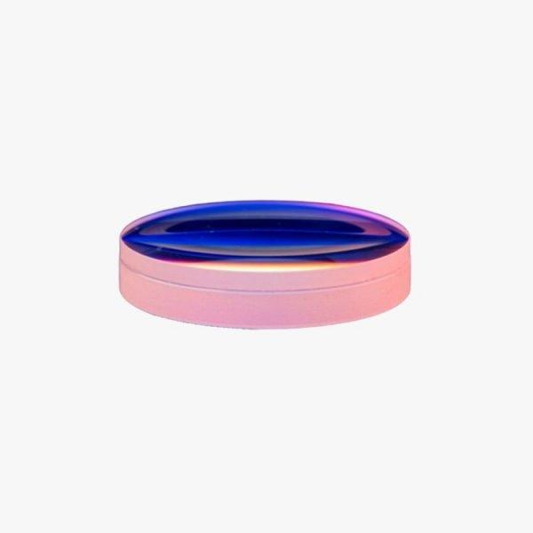 Double Gluing Achromatic Lens